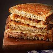 Swiss Cheese Sandwich